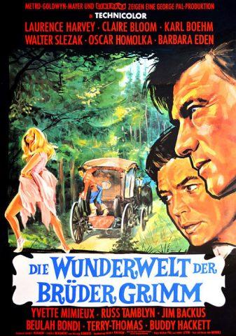 Die Wunderwelt der Brüder Grimm - 1962 Filmposter