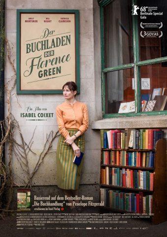Der Buchladen der Florence Green - 2017 Filmposter