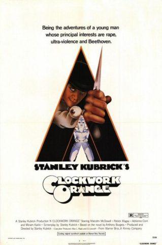 Uhrwerk Orange - 1971 Filmposter