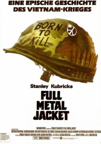 Full Metal Jacket - 1987 Filmposter