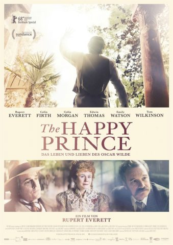The Happy Prince - 2017 Filmposter