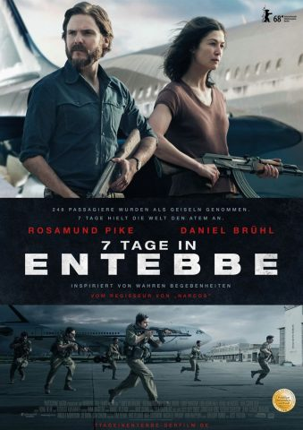 7 Tage in Entebbe - 2018 Filmposter