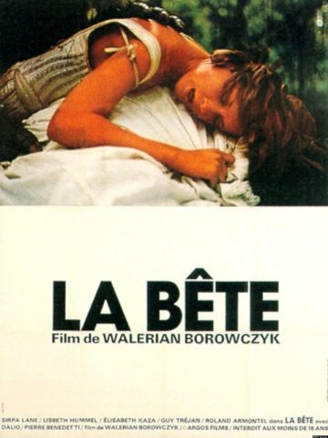 La Bête - 1975 Filmposter
