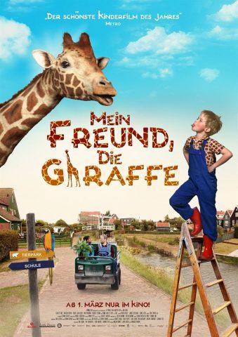 Mein Freund, die Giraffe 2017 Filmposter