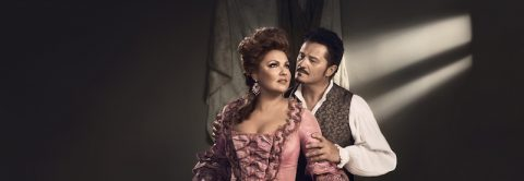 Anna Netrebko and Piotr Beczala in Adriana Lecouvreur_Photo by Vincent PetersMet Opera