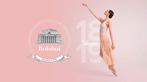 Bolshoi Theater Saison 2018/19 Poster