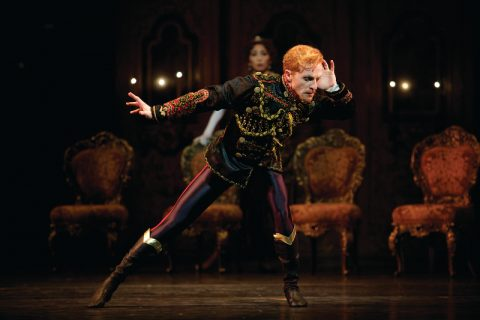 MAYERLING Steven McRae as Crown Prince Rudolf in Kenneth MacMillans production of Mayerling for The Royal Ballet (c) ROH 2017. Photograph by Alice Pennefather