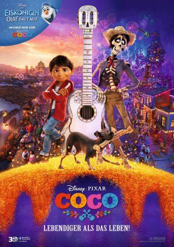 Coco - Lebendiger als das Leben 2017 Filmposter