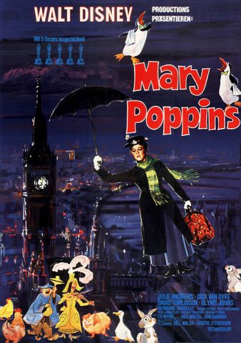 Mary Poppins - 1964 Filmposter