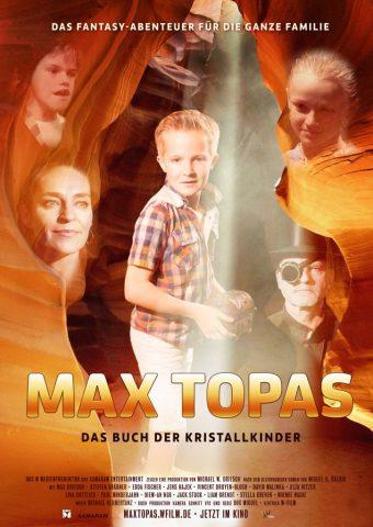 Max Topas - Das Buch der Kristallkinder - 2018 Filmposter