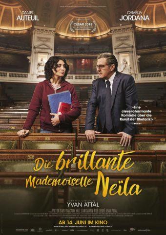 Die brillante Mademoiselle Neila - 2017 Filmposter