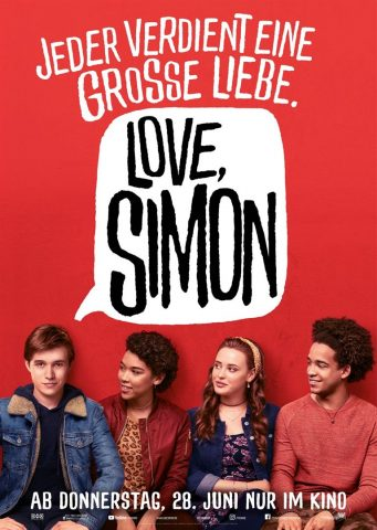 Love, Simon - 2018 Filmposter