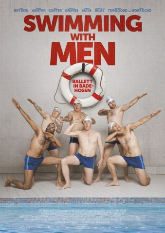 Swimming with Men - 2018 Filmposter