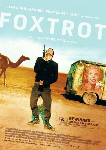 Foxtrot - 2017 Filmposter