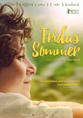 Fridas Sommer - 2016 Filmposter