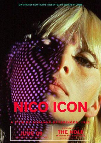 Nico Icon - 1995 Filmposter