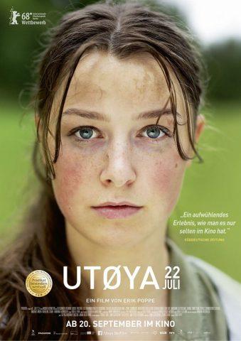 Utøya 22. Juli - 2018 Filmposter