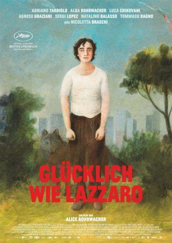 Glücklich wie Lazzaro - 2018 Filmposter