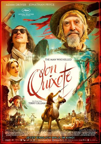 The Man who killed Don Quixote - 2018 Filmposter