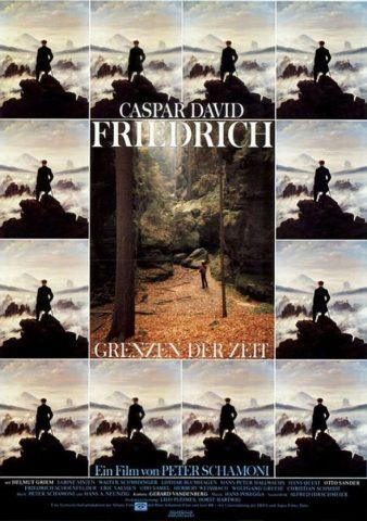 Caspar David Friedrich - Grenzen der Zeit - 1986 Filmposter