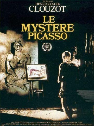 Picasso - Le Mystère de Picasso - 1955 Filmposter