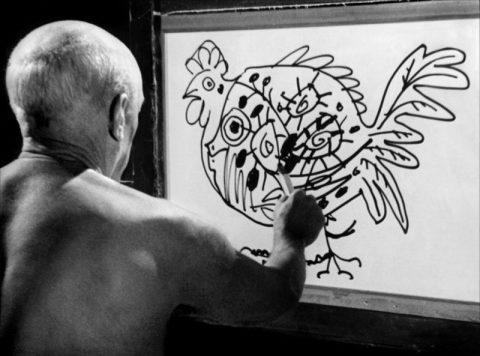 Picasso - Le Mystère de Picasso - 1955