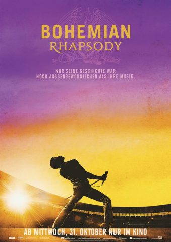 Bohemian Rhapsody - 2018 Filmposter