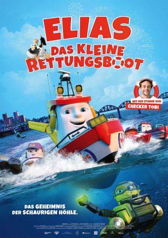 Elias, das kleine Rettungsboot - 2017 Filmposter
