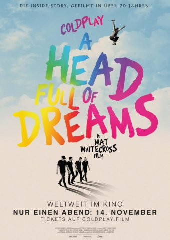 Coldplay: A Head full of Dreams - 2018 Filmposter