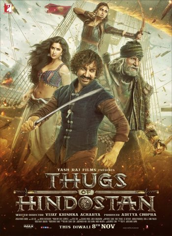 Thugs of Hindostan - 2018 Filmposter