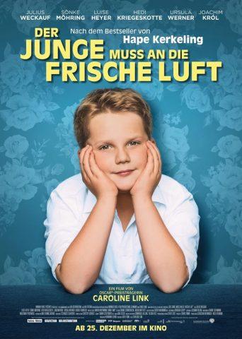 Der Junge muss an die frische Luft - 2018 Filmposter