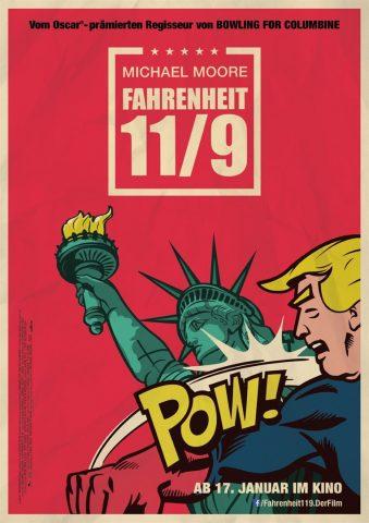 Fahrenheit 11/9 - 2018 Filmposter