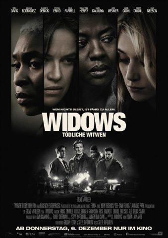 Widows - 2018 Filmposter