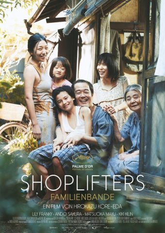 Shoplifters - 2018 Filmposter