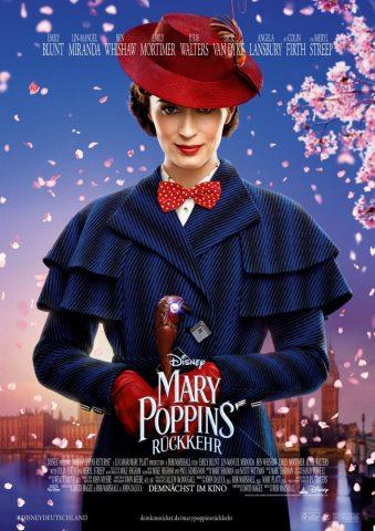 Mary Poppins Rückkehr - 2018 Filmposter