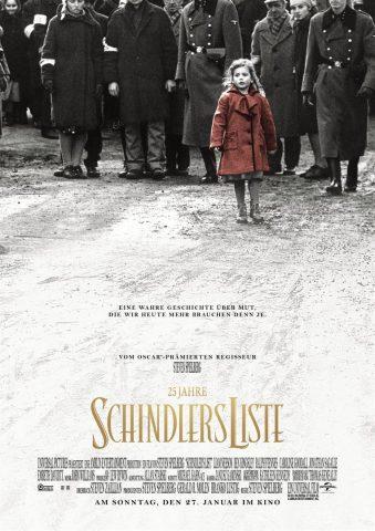 Schindlers Liste - 1993 Filmposter