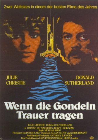 Wenn die Gondeln Trauer tragen - 1973 Filmposter