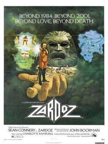 Zardoz - 1974 Filmposter