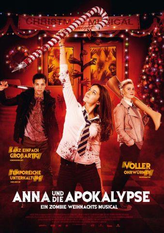 Anna und die Apokalypse - 2017 Filmposter