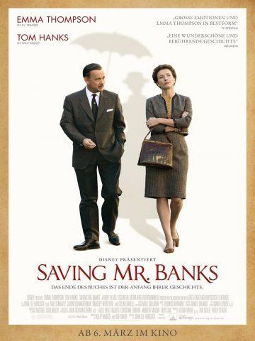 Saving Mr. Banks - 2013 Filmposter
