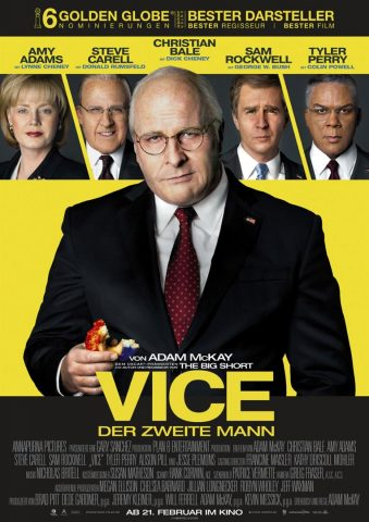 Vice - 2018 Filmposter