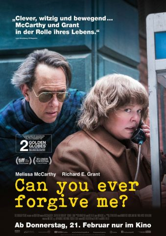 Can you ever forgive me? - 2018 Filmposter