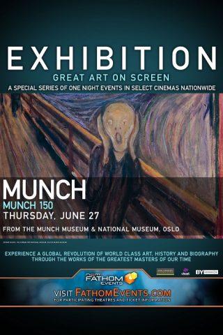 Munch 150 - 2012 Filmposter