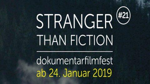 Stranger than Fiction 2019 Banner