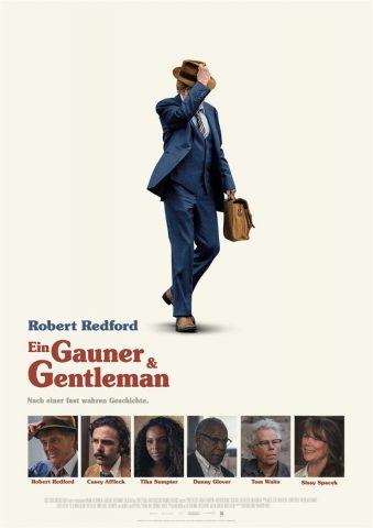 Ein Gauner & Gentleman - 2018 Filmposter