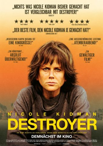 Destroyer - 2018 Filmposter