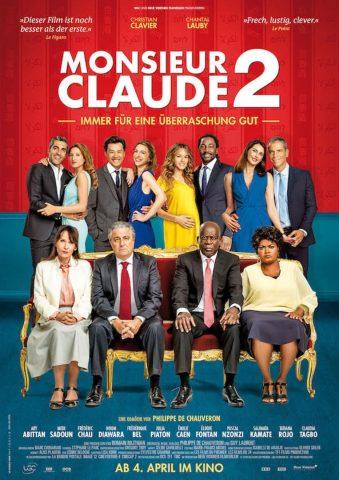 Monsieur Claude 2 - 2018 Filmposter
