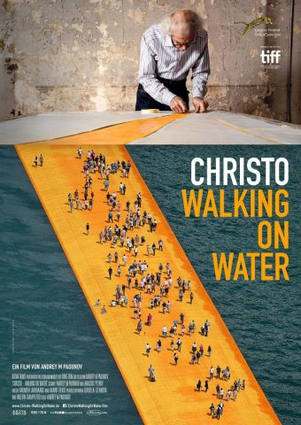 Christo - Walking on Water - 2018 Filmposter