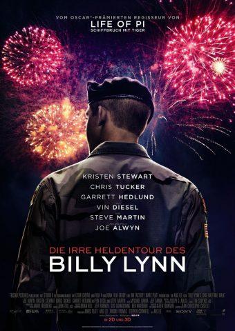 Die irre Heldentour des Billy Lynn - 2016 Filmposter