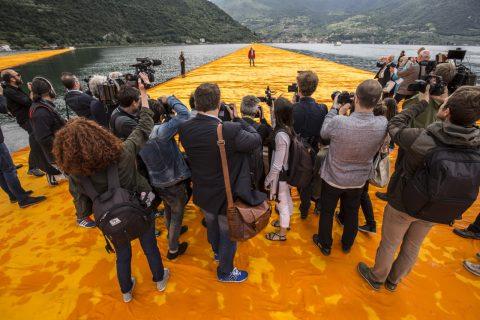 Christo - Walking on Water - 2018